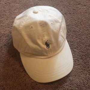 90s Ralph Lauren Hat (Leather Strap)